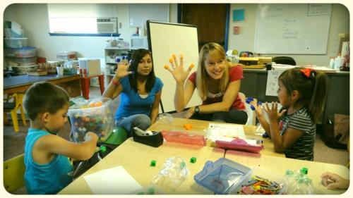 Lyranda & our class