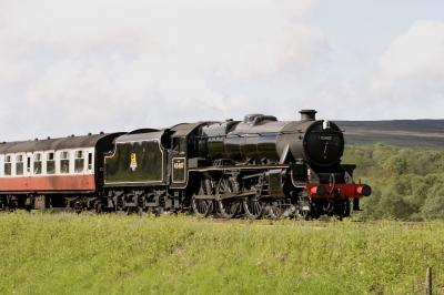 Steam Locomotive 45407 by Tom Curtis